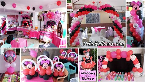 Minnie Mouse Balloon Decoration by Minnie Mouse Balloon Decorations Car Interior Design