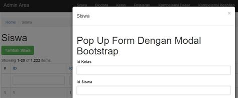 tutorial bootstrap modal tutorial yii 2 pop up form dengan modal bootstrap cuma