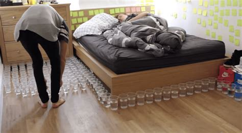 water bed prank the most epic water cup pranks of all time boredbug