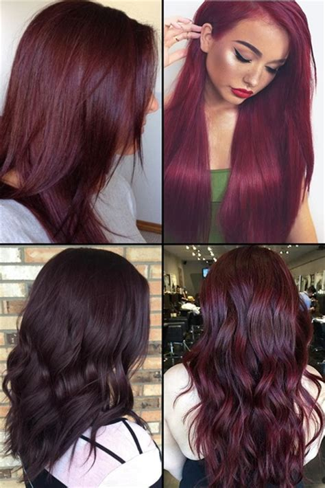 hair color idea 9 burgundy hair color ideas for 2017 hairstyles