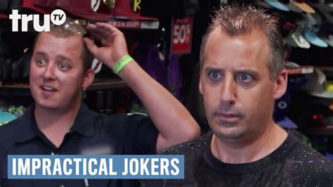impractical jokers joe bathroom impractical jokers joe s bathroom debacle trutv youtube