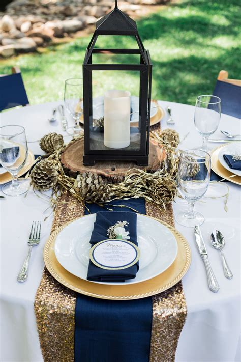 navy and gold wedding inspiration navy blue gold
