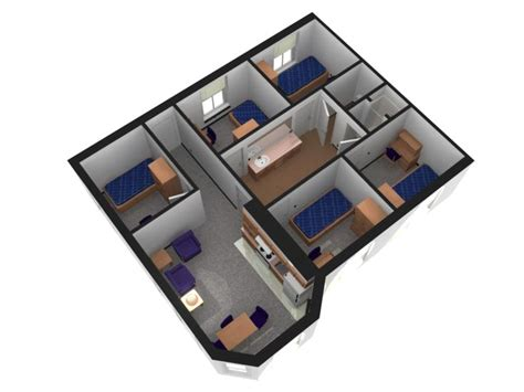 uncg housing tower village room layout 5 room suites uncg residence halls pinterest room