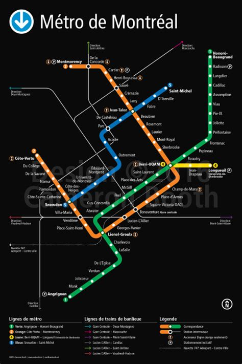 montreal metro map project montr 233 al m 233 tro redesign cameron booth