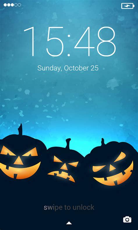halloween pattern screen lock halloween lock screen android apps on google play