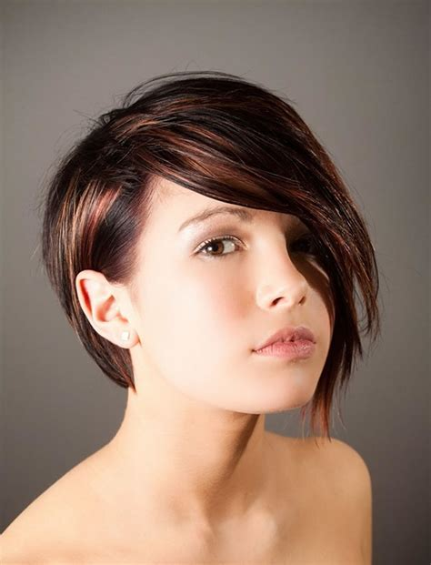 short hair with one side longer 2018 bob hairstyles and haircuts 25 hottest bob cut