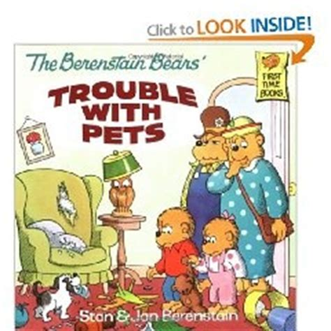 the berenstain bears trouble with pets series 1 17 best images about the berenstain bears books