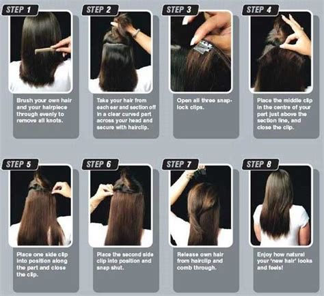 best way to put in hair extensions hair extensions eyelash extensions calgary