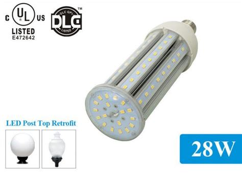 Led Light Bulb Lifespan Lifespan Led Corn Bulb For Enclosed Fixture Led Post Top Retrofit Of Cornledlights