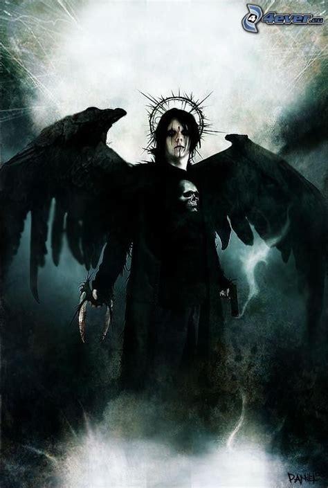 imagenes angel gotico 193 ngel negro