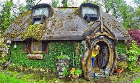 real house real life hobbit house imagines the fantastical book into