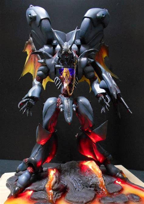 148 Aura Battler Drumlo mecha hgab 1 72 aura battler dunbine zwarth diorama build anime gaming models