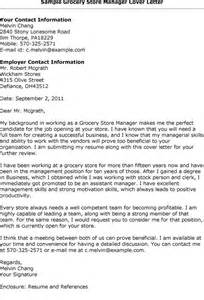 Grocery Stock Clerk Cover Letter by Supermarket Cover Letter Free Resumes Tips
