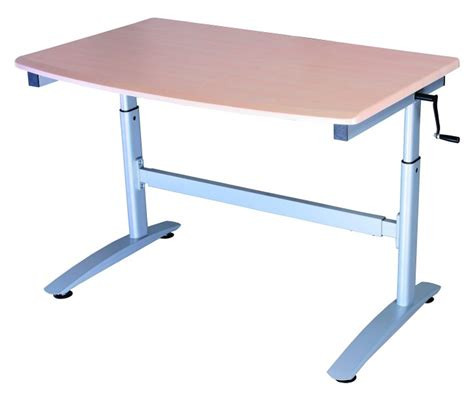 Ada Desk Height ada 2000 winding height adjustable desk workstation