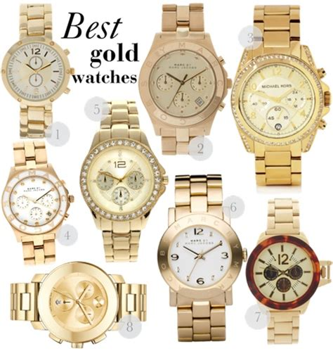 fashion in my best gold watches