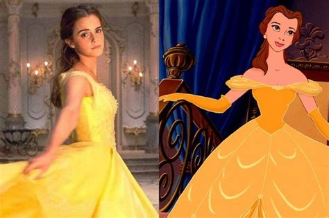 emma s belle s yellow gown from beauty and the beast a emma watson redesigned beauty and the beast dress to suit
