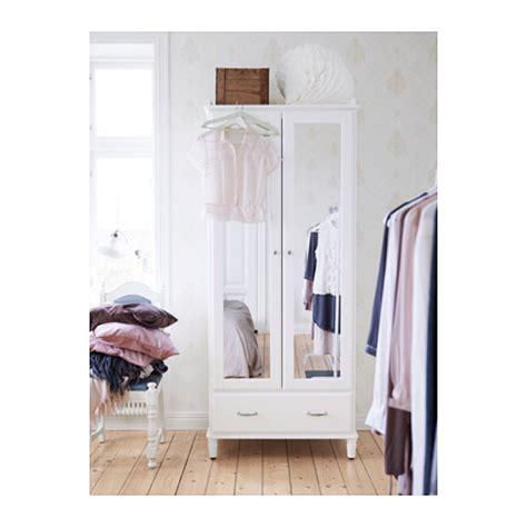 ikea white wardrobe with mirror tyssedal wardrobe white mirror glass 88x58x208 cm ikea