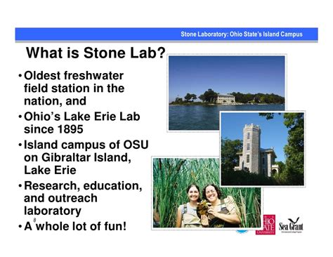 Mba Program Courses Lake Erie College by Research Education And Outreach Efforts On Critical Lake