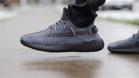 triple black static yeezy boost   dip dye dyi custom youtube