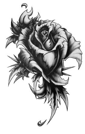 gothic black rose tattoo designs south of sweet graphics