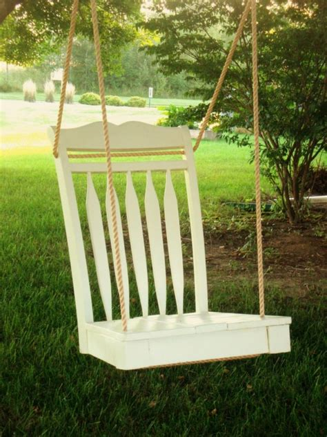 diy chair tree swing the simple solution dining room chair tree swing