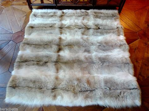 Fur Quilt by Ralph Coyote Fur Blanket Greatest Collectibles