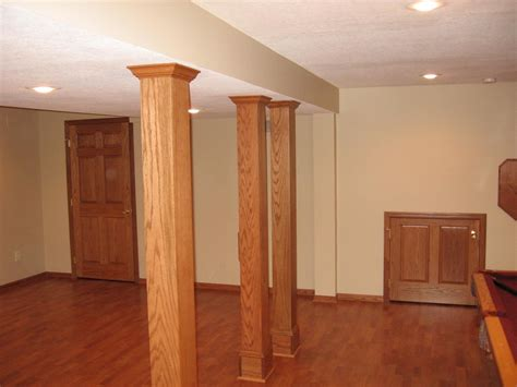 basement wrap ideas for basement column covers the wooden houses