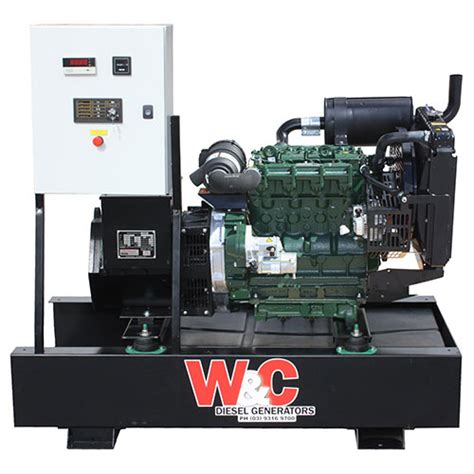 18kva single phase diesel standby generator with