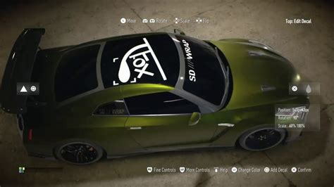 nissan gtr wrapped tanner fox tanner fox s guac zilla gtr need for speed youtube