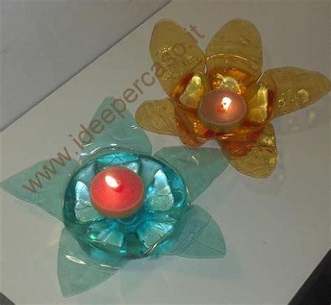 materiale per candele porta candeline di riciclo