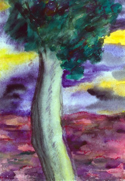 Lukisan Bunga Buah gambar lukisan pohon pepaya