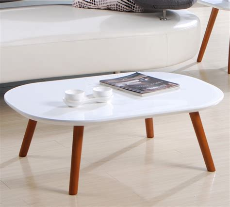 white oval coffee table decor your living room in style