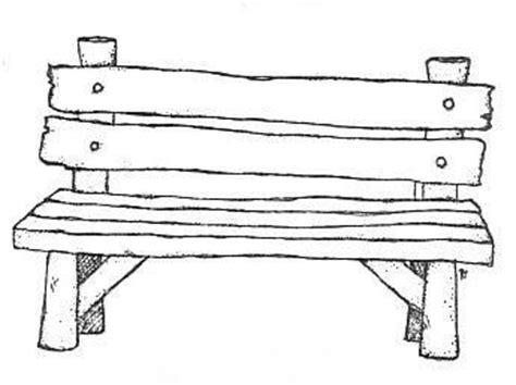 bench drawing pinterest the world s catalog of ideas