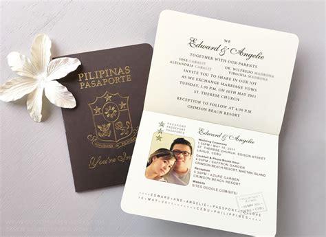 passport wedding program template passport wedding program template gallery free templates