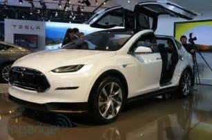 Suv Tesla Tesla Model X Suv On