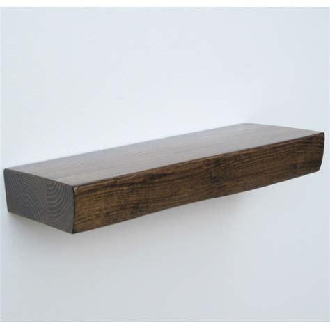 floating shelf walnut home design
