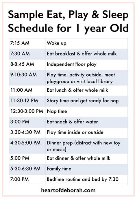 what time should a 3 year old go to bed sle menu for one year old heart of deborah