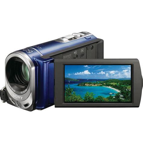 Memory Handycam Sony by Sony Dcr Sx44 4gb Handycam Camcorder Blue Dcrsx44 L B H