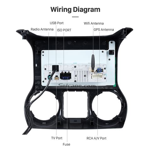 2014 jeep comp stereo wiring diagram jeep auto parts