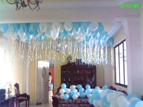 como decorar con globos el techo chicas como podria decorar un techo