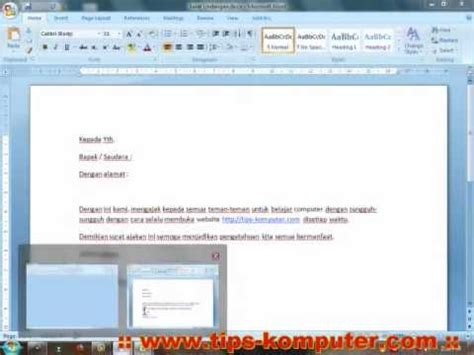 membuat mail merge di word 2010 cara membuat mail merge di ms word 2007 2010 sistem gpl