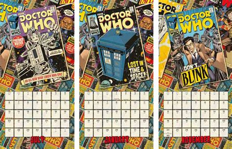Doctor Who Desk Calendar by Doctor Who 2015 Calendars