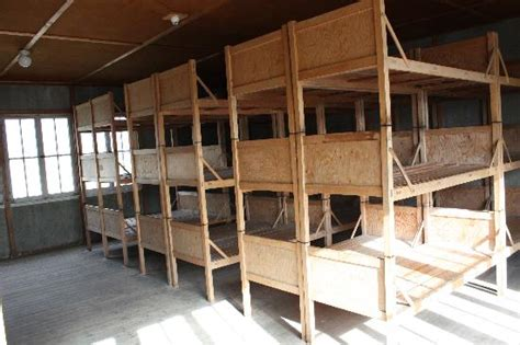 Concentration C Bunk Beds Sculpture In Front Of Building Picture Of Dachau Concentration C Dachau Tripadvisor