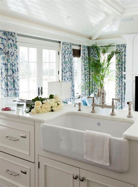 white blue kitchen i want to live by the sea coastal inspired style the