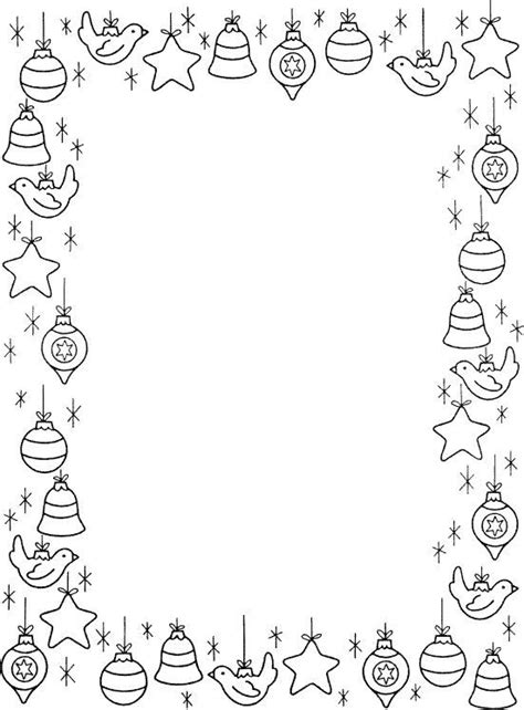 christmas borders coloring page 268 best borders frames christmas winter images on