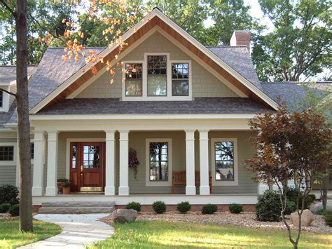 craftsman house plans one story with porches most popular new custom home shingle style craftsman style house plan
