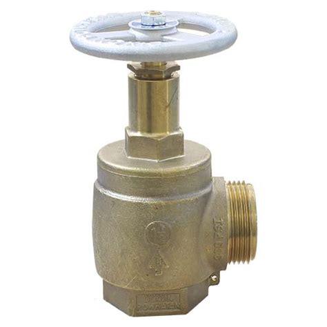 fire department valve fire hose angle valves