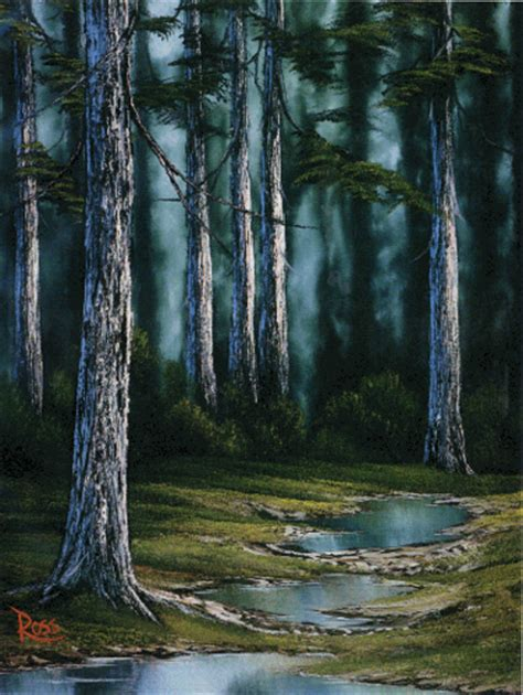 bob ross painting forest bob ross forest painting flickr photo