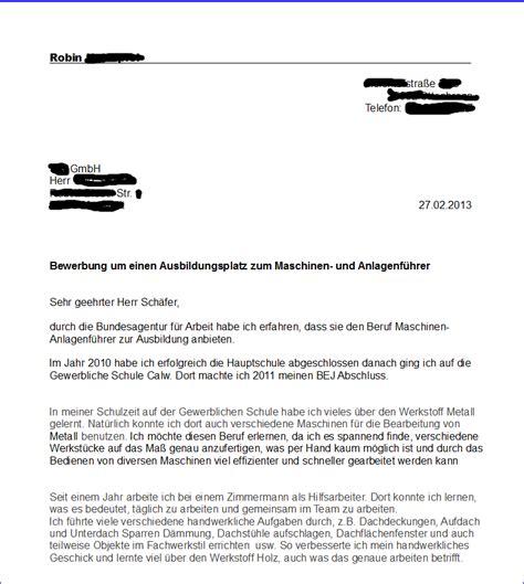 Bewerbungbchreiben Muster Zimmermann Referenznummer Bewerbung Lebenslauf