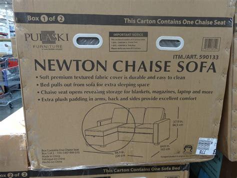 newton chaise sofa bed costco newton sofa chaise convertible bed costco home